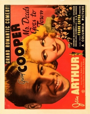 Mr. Deeds Goes to Town movie poster (1936) poster MOV_44bc4e46