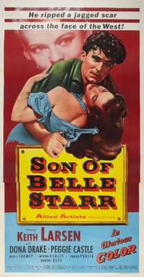 Son of Belle Starr movie poster (1953) poster MOV_44ea95a6