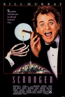Scrooged movie poster (1988) picture MOV_44f02975