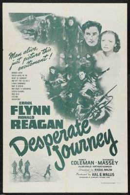 Desperate Journey movie poster (1942) poster MOV_44f43836