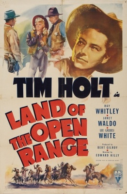 Land of the Open Range movie poster (1942) poster MOV_44f5777b