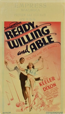 Ready, Willing and Able movie poster (1937) poster MOV_45308668