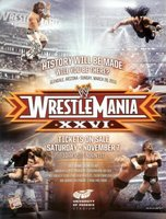 WrestleMania XXVI movie poster (2010) picture MOV_453b3799