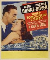 When Tomorrow Comes movie poster (1939) picture MOV_453eb4f7