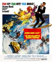 On Her Majesty's Secret Service movie poster (1969) picture MOV_453f1ffd