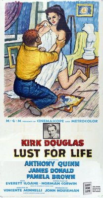 Lust for Life movie poster (1956) poster MOV_455a941a