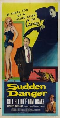 Sudden Danger movie poster (1955) poster MOV_455b873e