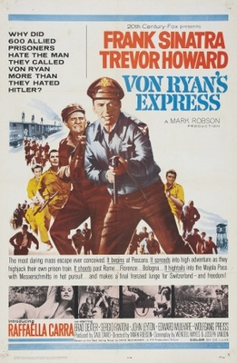 Von Ryan's Express movie poster (1965) poster MOV_455cd845