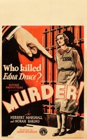 Murder! movie poster (1930) picture MOV_45682394