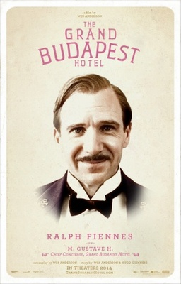 The Grand Budapest Hotel movie poster (2014) poster MOV_456c2d98