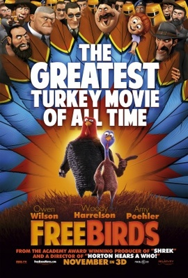 Free Birds movie poster (2013) poster MOV_457484b7