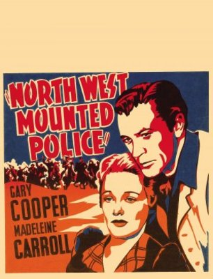 North West Mounted Police movie poster (1940) poster MOV_4577e2ce