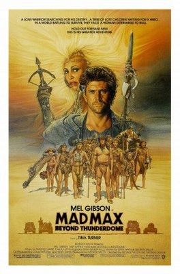 Mad Max Beyond Thunderdome movie poster (1985) poster MOV_458efa30