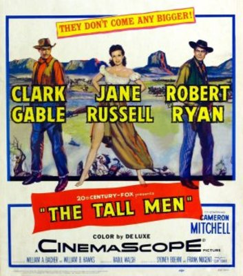 The Tall Men movie poster (1955) poster MOV_45907a35