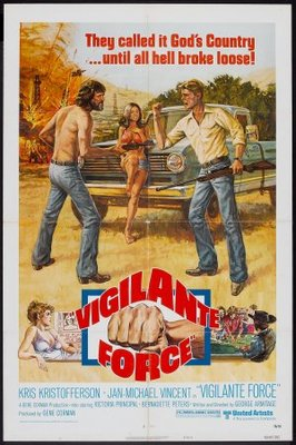 Vigilante Force movie poster (1976) poster MOV_4597aa99