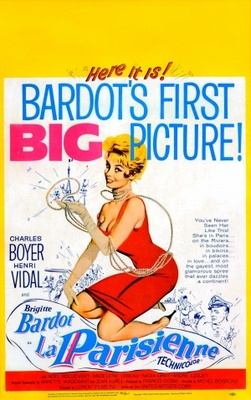 Une parisienne movie poster (1957) poster MOV_459cd34d