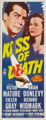 Kiss of Death movie poster (1947) poster MOV_45a0ba43