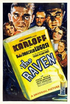 The Raven movie poster (1935) poster MOV_45a3c87d