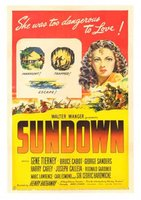 Sundown movie poster (1941) picture MOV_45a7176b