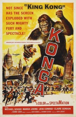 Konga movie poster (1961) poster MOV_45ba1f68