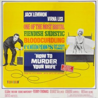 How to Murder Your Wife movie poster (1965) poster MOV_45bc8a84