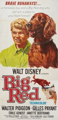 Big Red movie poster (1962) poster MOV_45c3a9b9