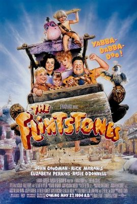 The Flintstones movie poster (1994) poster MOV_45ce22d2