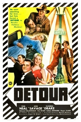 Detour movie poster (1945) poster MOV_45ce9896