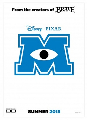 Monsters University movie poster (2013) poster MOV_45d3b489