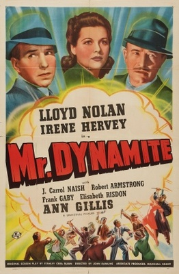 Mr. Dynamite movie poster (1941) poster MOV_45de39e2