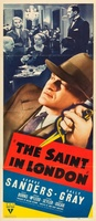 The Saint in London movie poster (1939) picture MOV_45f7ddbc