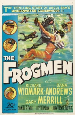 The Frogmen movie poster (1951) poster MOV_45ff4371