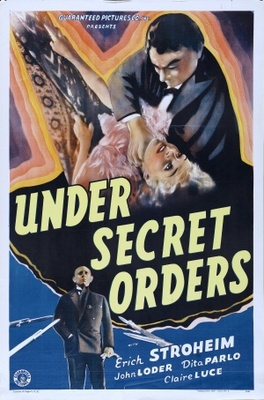 Under Secret Orders movie poster (1937) poster MOV_461d3023