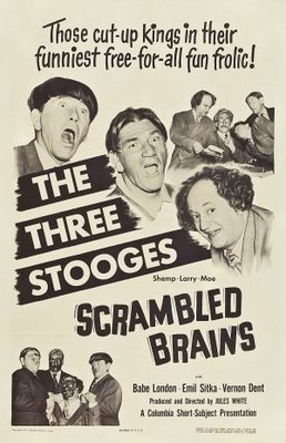 Scrambled Brains movie poster (1951) poster MOV_461e4de9