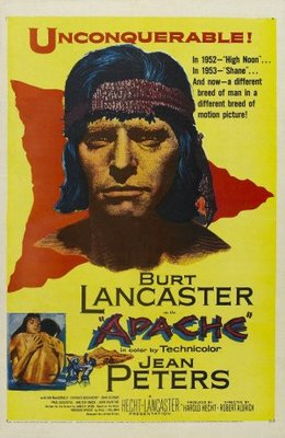 Apache movie poster (1954) poster MOV_462c5b5b