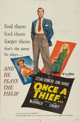 Once a Thief movie poster (1950) poster MOV_463300ac