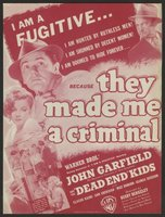 They Made Me a Criminal movie poster (1939) picture MOV_4643df92