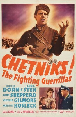 Chetniks movie poster (1943) poster MOV_4663300b