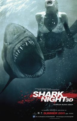 Shark Night 3D movie poster (2011) poster MOV_4664390b