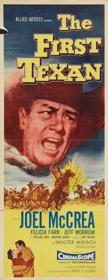 The First Texan movie poster (1956) poster MOV_469fa215
