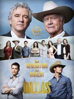 Dallas movie poster (2012) poster MOV_46b9fe3d