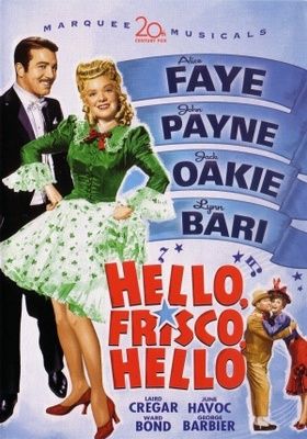 Hello Frisco, Hello movie poster (1943) poster MOV_46d0c7a0