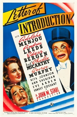 Letter of Introduction movie poster (1938) poster MOV_46e0a8cf