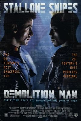 Demolition Man movie poster (1993) poster MOV_472b309d