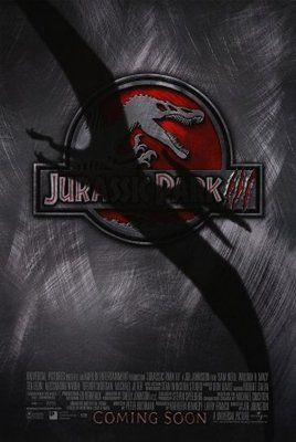 Jurassic Park III movie poster (2001) poster MOV_474d4bc6