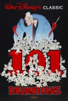 One Hundred and One Dalmatians movie poster (1961) picture MOV_474e82bc