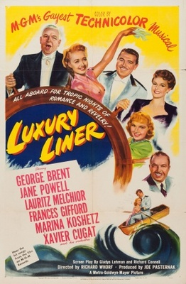 Luxury Liner movie poster (1948) poster MOV_47533810