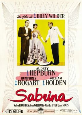 Sabrina movie poster (1954) poster MOV_4760c8ab