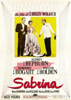 Sabrina movie poster (1954) poster MOV_4760c8ab