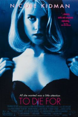 To Die For movie poster (1995) poster MOV_47667a9b
